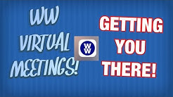 GETTING TO YOUR VIRTUAL WW MEETING! They Start Tomorrow!