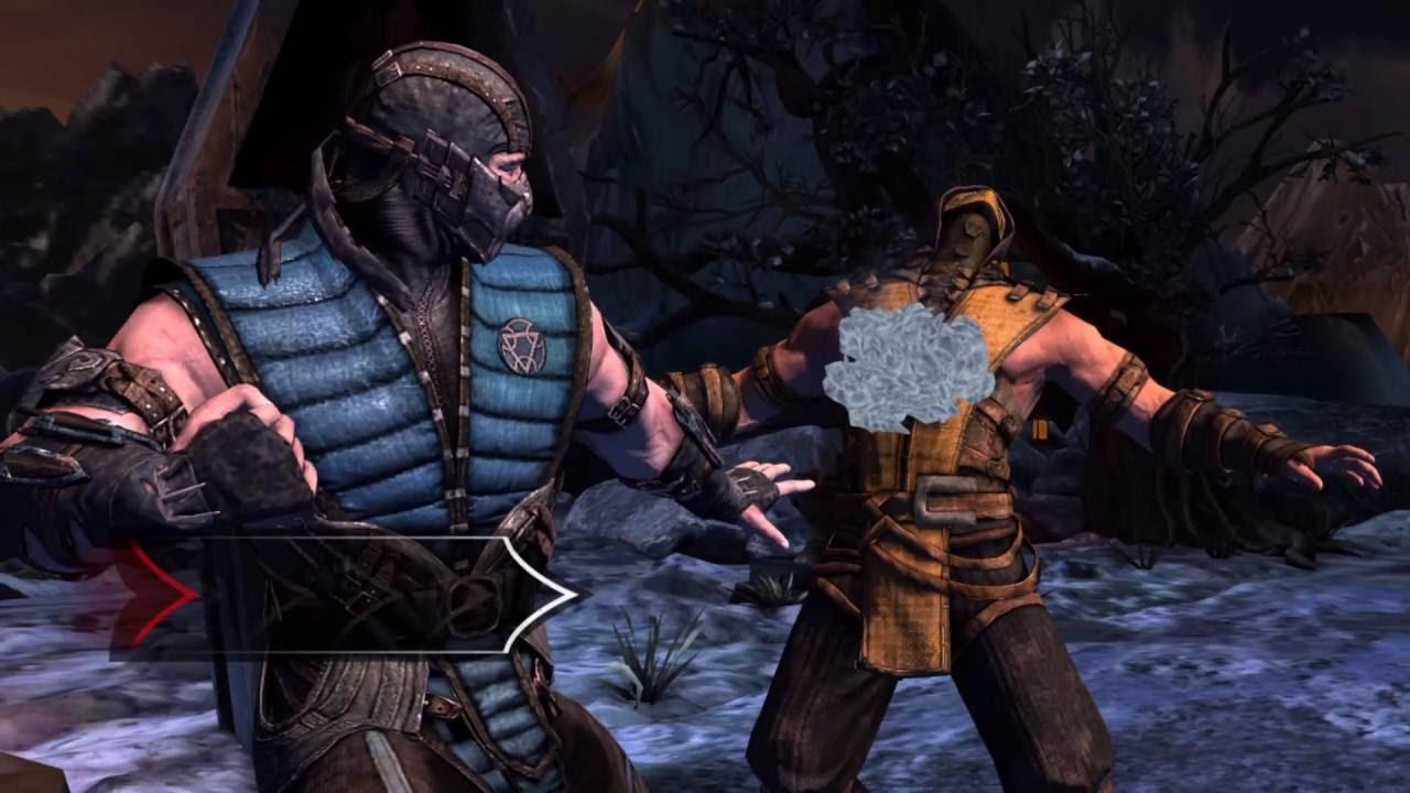 Mortal Kombat X Android Sub Zero Fatality Full Hd Youtube