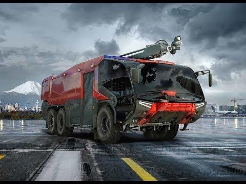 Самые Лучшие Пожарные Машины в Мире