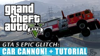 GTA 5 Car Cannon Glitch + Tutorial!