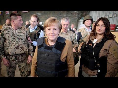سفر غیر منتظره صدراعظم آلمان به افغانستان