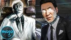 Supervillain Origins: Mister Negative
