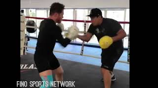 (FIRE) CANELO ÁLVAREZ OPENS UP CAMP FOR GENNADY GOLOVKIN