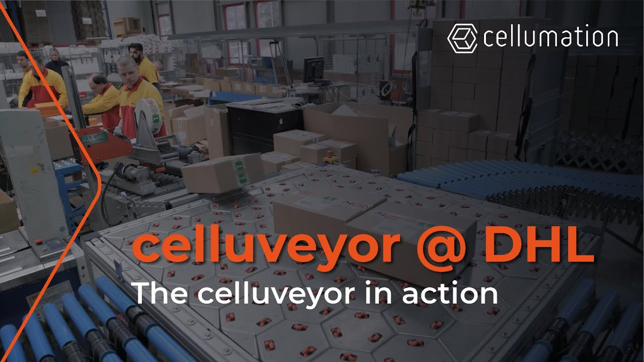 Celluveyor Success Story With Dhl