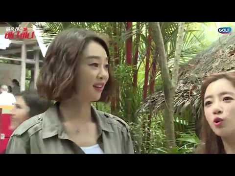 [EP 5] T-ara(티아라) Eunjung on JTBC Golf Enchanted Lesson Birdie Birdie