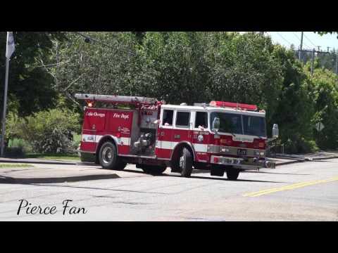 Engine 210 Responding Lake Oswego Fire Department (1995 Pierce Arrow)