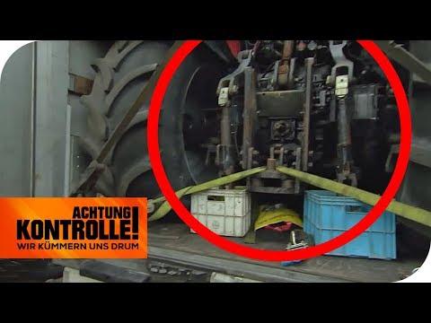 Skurrile LKW-Ladung: Die Autobahnpolizei greift durch | Achtung Kontrolle | kabel eins