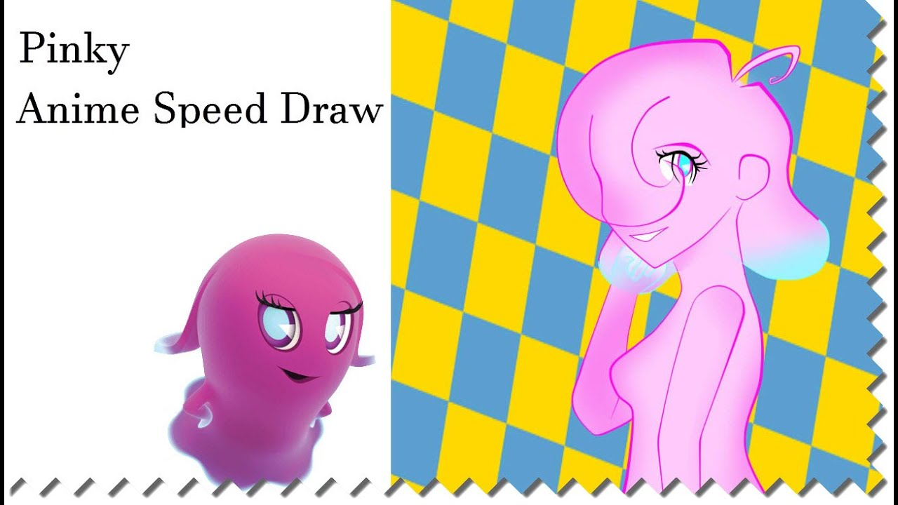 Pinky Ghost Speed Draw