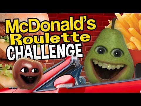 Annoying Orange - McDonald's Roulette Challenge!