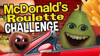 Annoying Orange - McDonald's Roulette Challenge!