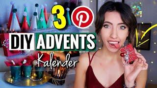 3 PINTEREST DIY Adventskalender für Weihnachten zum selbst befüllen! | Günstig & Einfach
