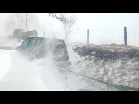 THE BEAST FROM THE EAST - SNOW - BRYNITHEL MOUNTAIN - ABERTILLERY - 1st MARCH 2018 - PART 1