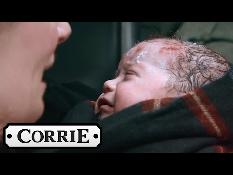 Leanne Gives Birth in a Lift - Coronation Street