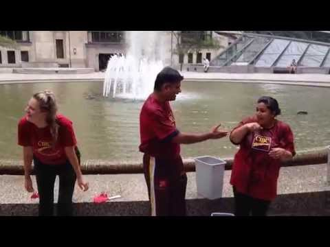 CIBC South Asian Employee Network Ice Bucket Challenge