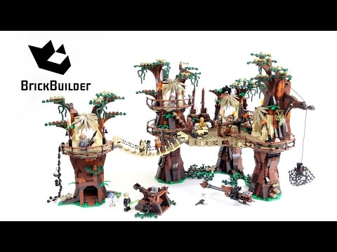 LEGO STAR WARS 10236 Ewok Village - Speed Build For Collecrors - Ultimate Collector Series (20/31)