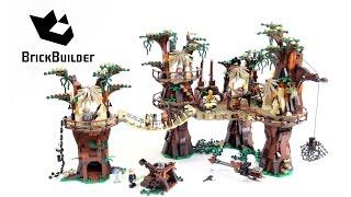 Kijk Lego Star Wars 10236 Ewok Dorp filmpje