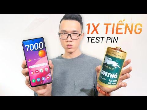 Test PIN thực tế Galaxy M51: 13 TIẾNG onscreens liên tục!