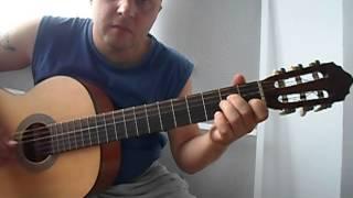 Уроки гитары В.Цой-Кукушка.Разбор инструментала.Куплет