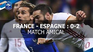 France - Espagne 2017 : 0-2