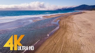 4K Drone Footage - Bird's Eye View of Coastal Oregon, USA - 2 Hour Ambient Drone Film