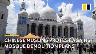 Chinese Muslim protest halts plan to demolish new mosque