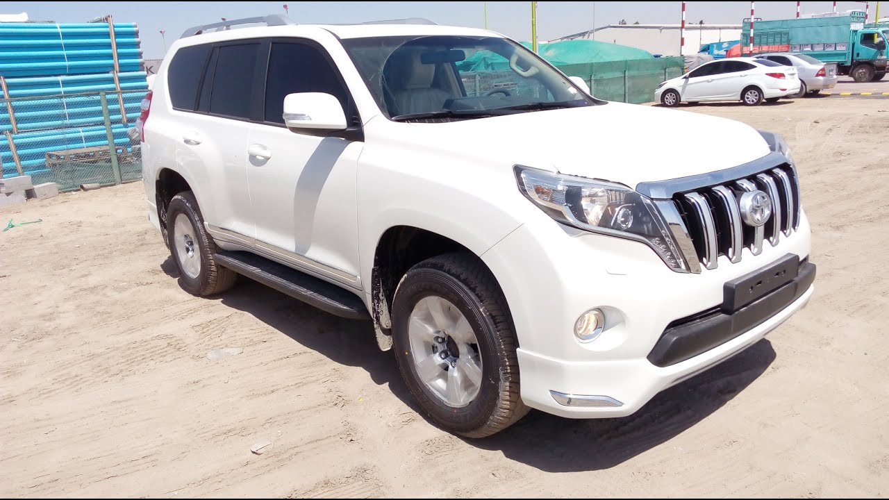 Toyota Prado Vxr 2 7 Year 2016 In Dubai Youtube
