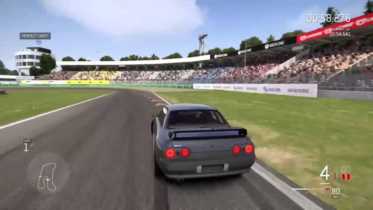 Forza 6 Nissan GT-R (1971-Present) Drift Clips - YouTube