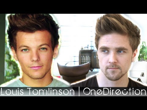 Louis Tomlinson Hairstyle | One Direction | Men's Hair Inspiration