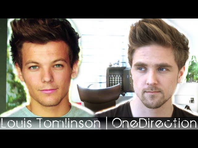 Louis Tomlinson Hairstyle | One Direction | Mens Hair Inspiration