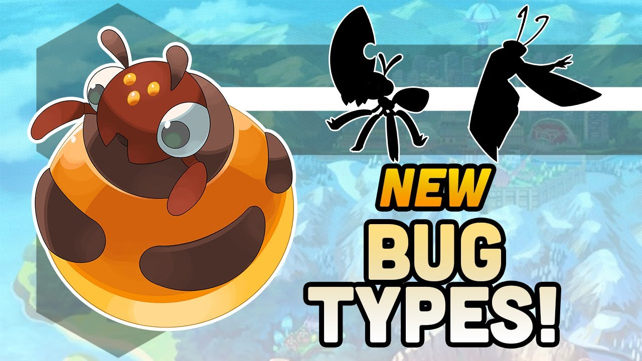 "Designing New Pokemon! ""Route 1"" Bug types!"