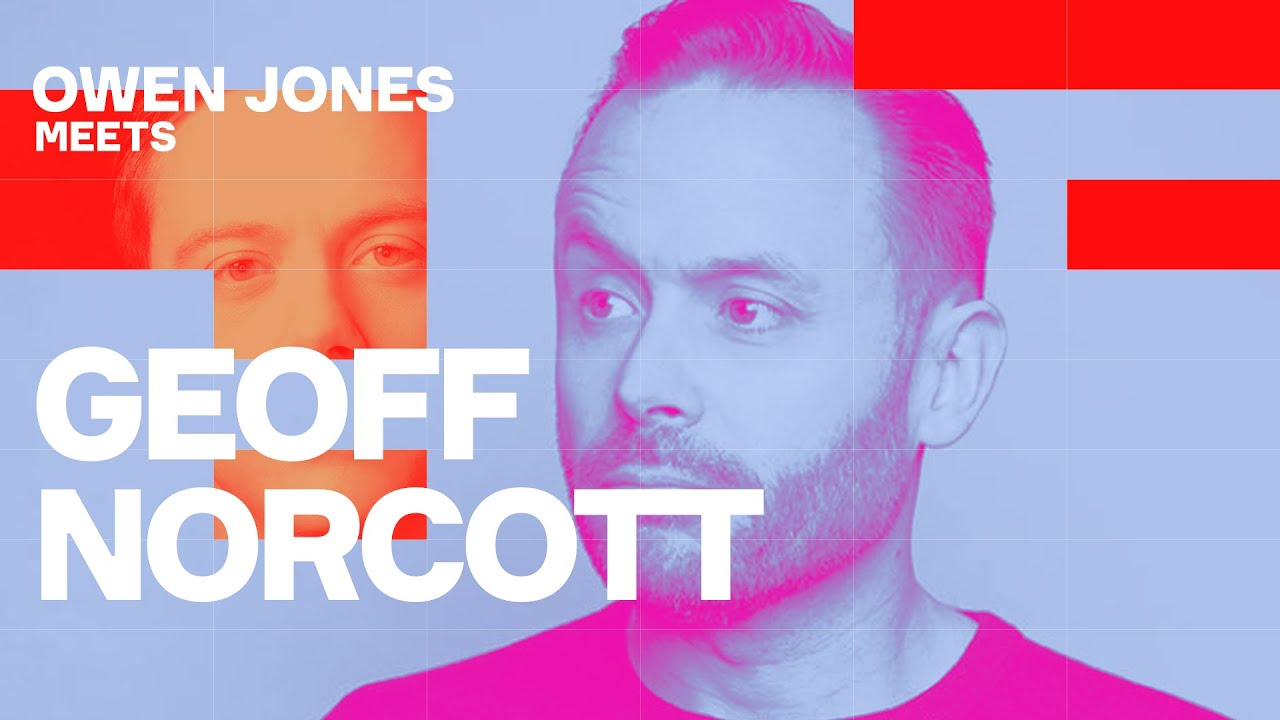 Geoff Norcott on why he's right-wing, 'woke' and why he thinks I'm wrong