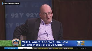 MLB Owners Approve Mets Sale To Steve Cohen