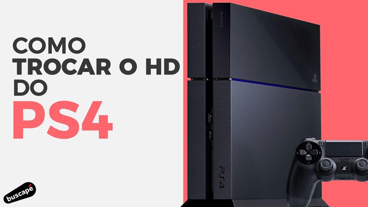 d0d953caa Como trocar o HD do PS4  Buscapé Games  - YouTube