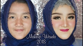 Tutorial Makeup Wisuda awet seharian | cara pasang skot mata | RindyNellaKrisna