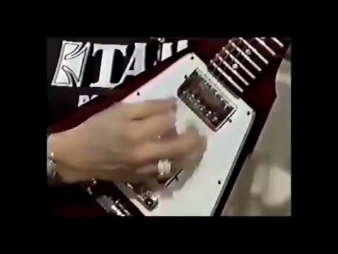 Stevie Ray Vaughan  Programa TV Tailandia 1985 Rareza