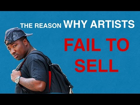Why artists can't sell shit