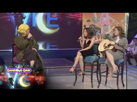 GGV Exclusive: How do Vice Ganda, Moira, and Jona imagine themselves going to their ex's wedding?