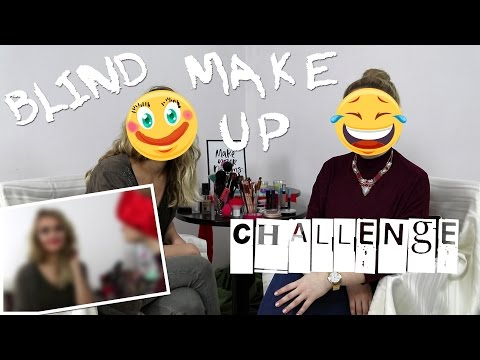 LYD | Blindfolded Makeup Challenge by Lea & Korina