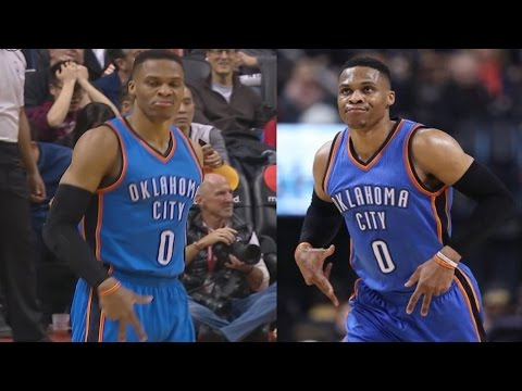 Russell Westbrook Pass of the Year Contender! 34th Trip Dub