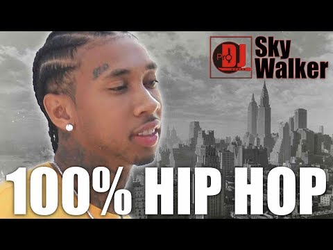 100% Hip Hop Rap Trap Mix 2019  2018  Club Party Dance Black  New Songs  DJ SkyWalker