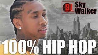 DJ SkyWalker #35 | 100% Hip Hop Rap Trap Mix 2019 | 2018 | Club Party Dance Black Music New Songs