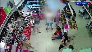 Житель Волжского ударил продавщицу обувного магазина