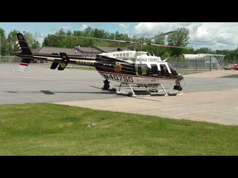 Onondaga County Sheriff's Air One to the rescue