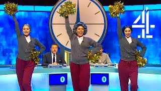 Jon Has Cheerleaders And David Walliams Breaks A Family Heirloom | 8 Out Of 10 Cats Does Countdown
