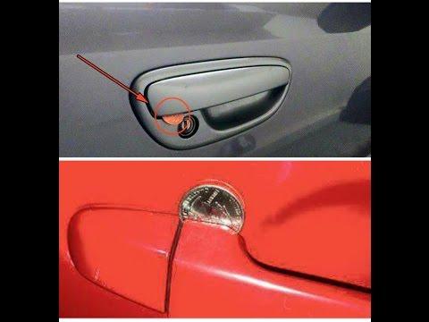 RE: Coin Stuck In Car Door