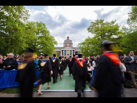 Commencement 2017: Arts, Sciences & Engineering Ceremony