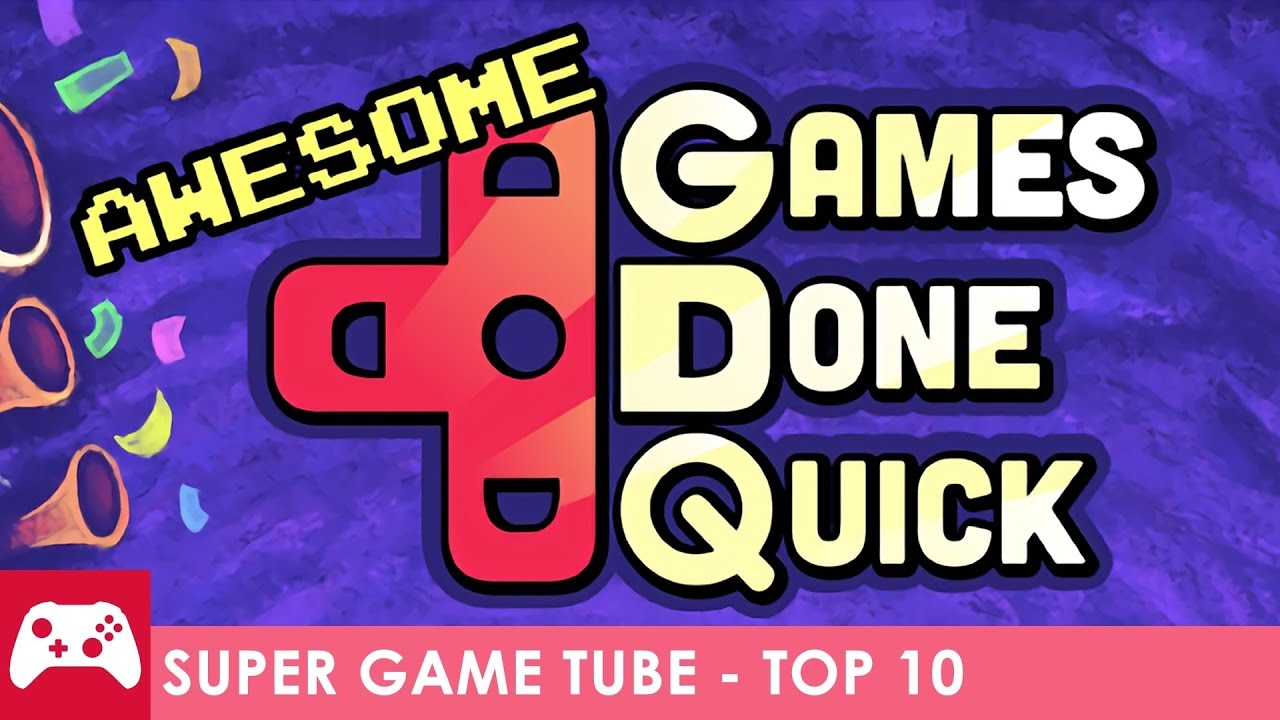 Top 10 Awesome Games Done Quick 2017 Youtube