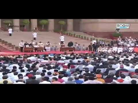 Narendra Modi Swearing In Ceremony || Boom Live