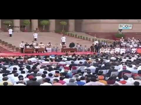 Narendra Modi Swearing In Ceremony || Boom Live