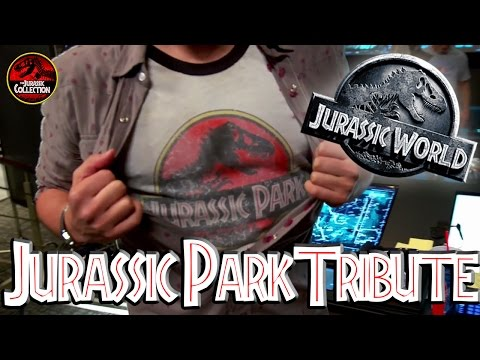 Jurassic World | TRIBUTE TO JURASSIC PARK | Behind the Scenes